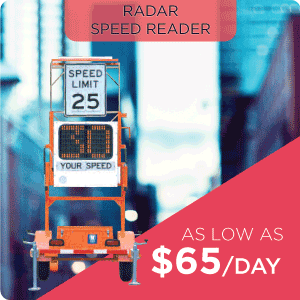 Radar Speed Reader